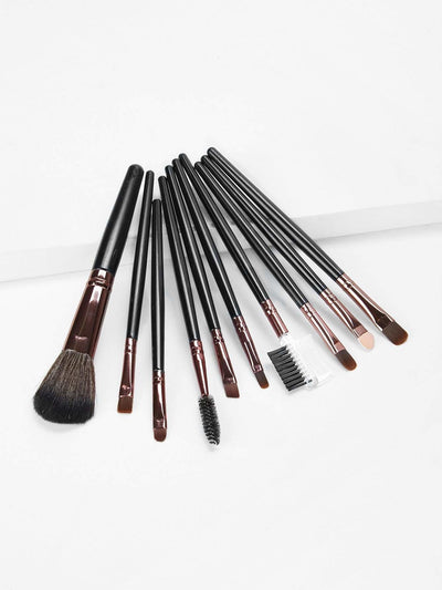 Soft Makeup Brushes Set 10Pcs - Makeup Brushes