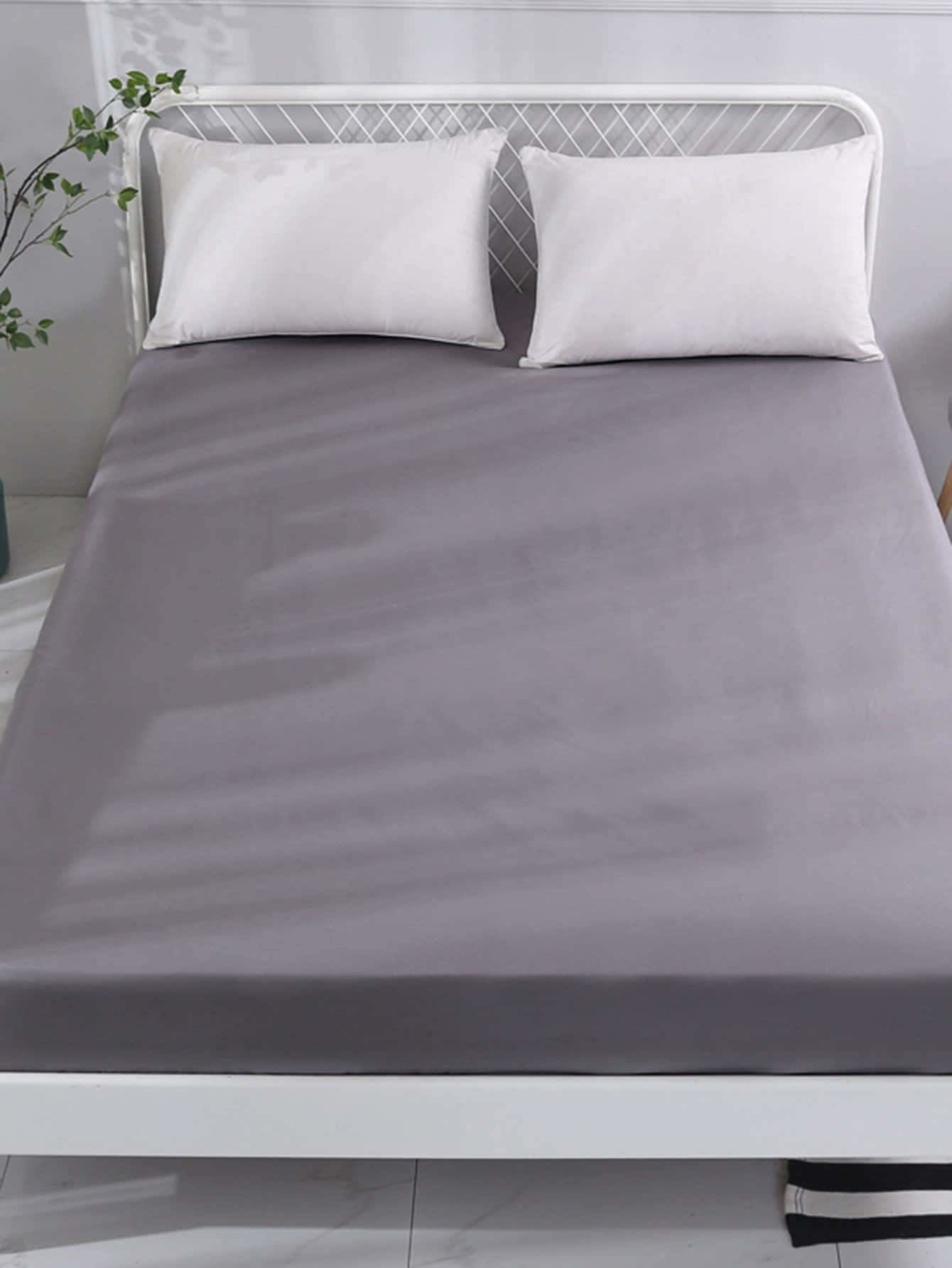 Solid  Fitted Sheet 1PC