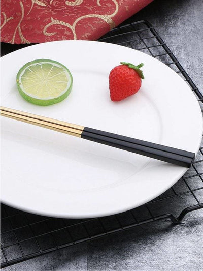 Stainless Steel Chopsticks 1 Pair - Dining
