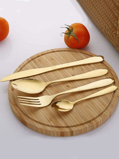 Stainless Steel Cutlery 4Pcs - One-Size / One Color - Dining