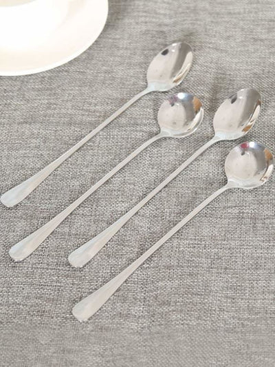 Stainless Steel Spoon 4Pcs - Dining
