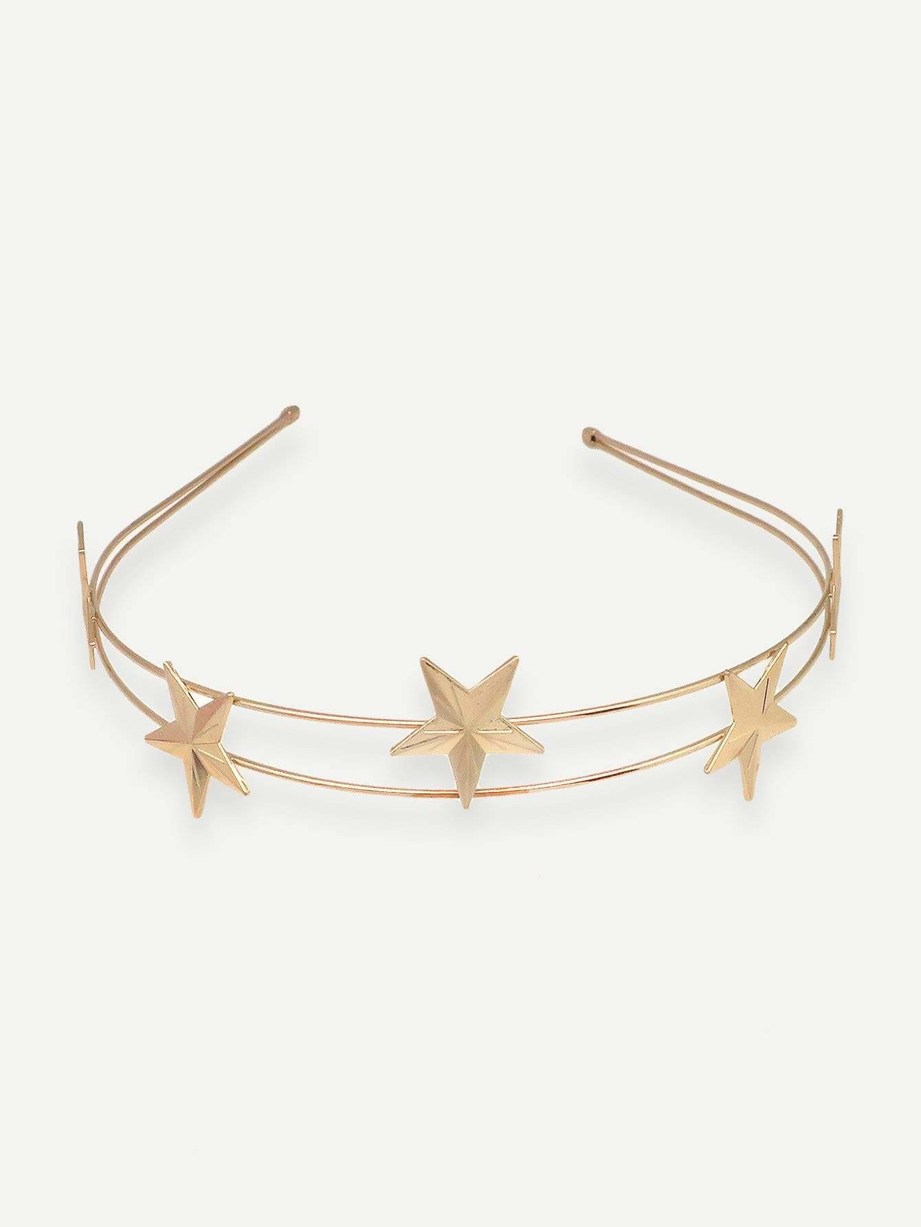 Star Decorated Headband 1pc