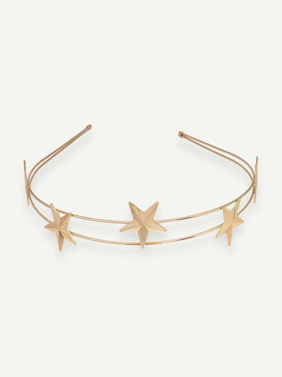 Star Decorated Headband 1Pc - Hair Accessories