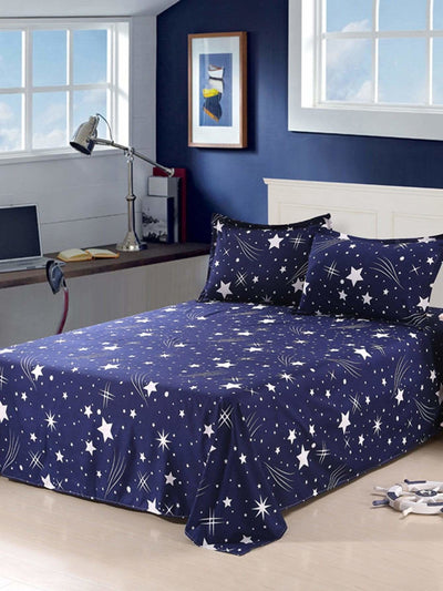 Star Print Flat Sheet - Bedding Sets