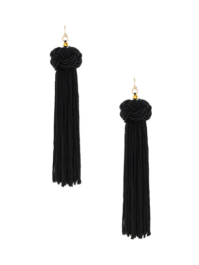 Statement Tassel Drop Earrings - Earrings