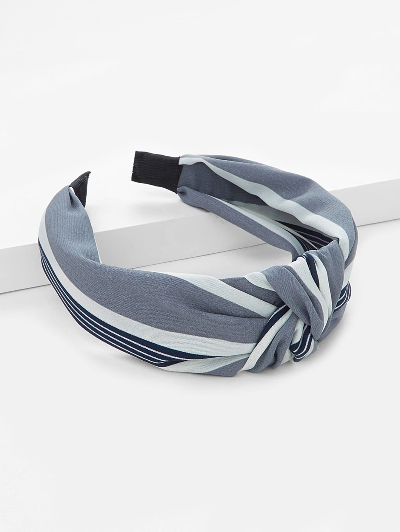 Striped Knot Headband - Hair Accessories