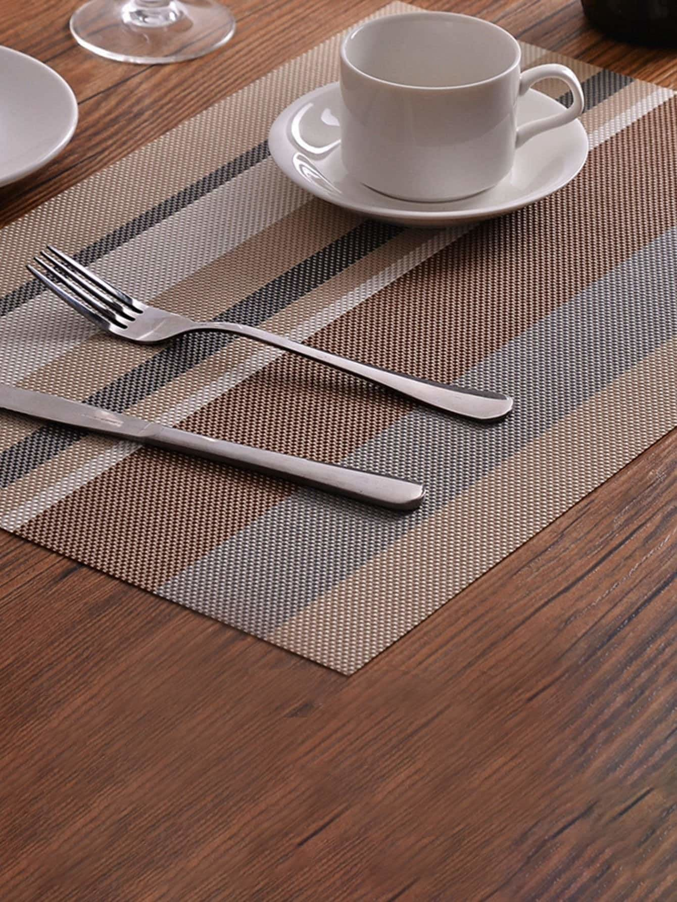Striped Print Placemat - Dining