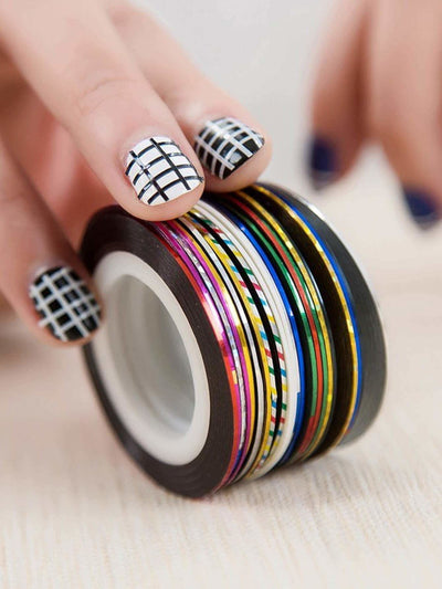 Striping Tape Line Nail Sticker 30Pcs - Beauty Tools