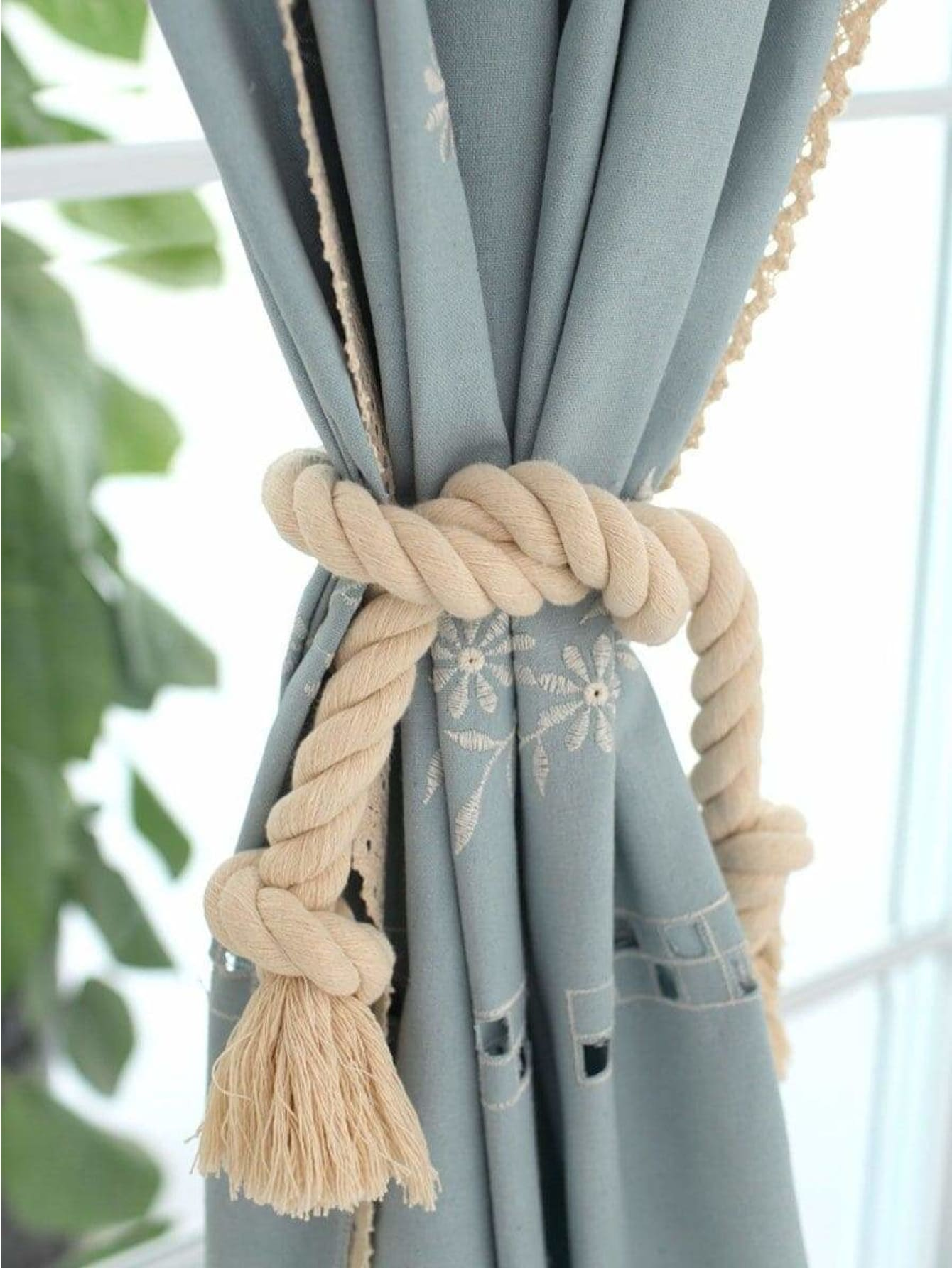 Tassel Curtain Tie Back 2pcs