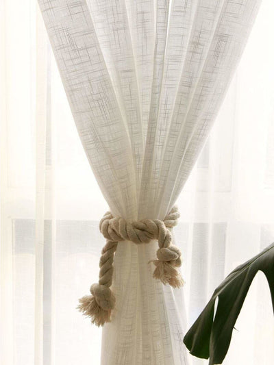 Tassel Curtain Tie Back 2pcs - Curtains