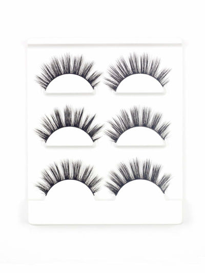 Thick False Eyelash 3Pairs - Beauty Tools