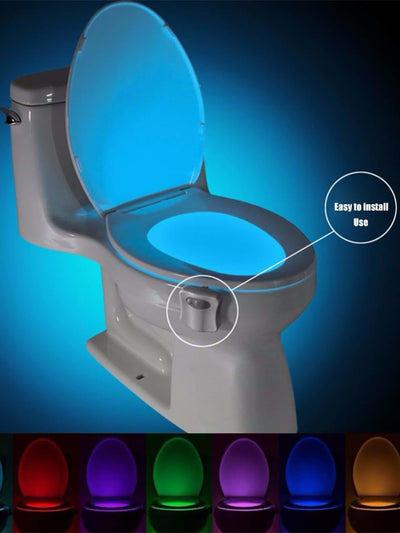 Toilet Multi Color Changing Night Light 3V - Lighting & Lamps