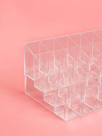 Transparent Cosmetic Storage Box - Beauty Tools
