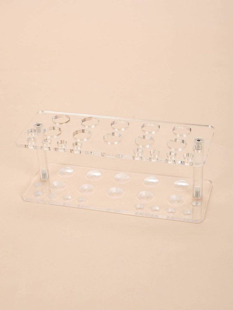 Transparent Makeup Brush Holder - Makeup Tools