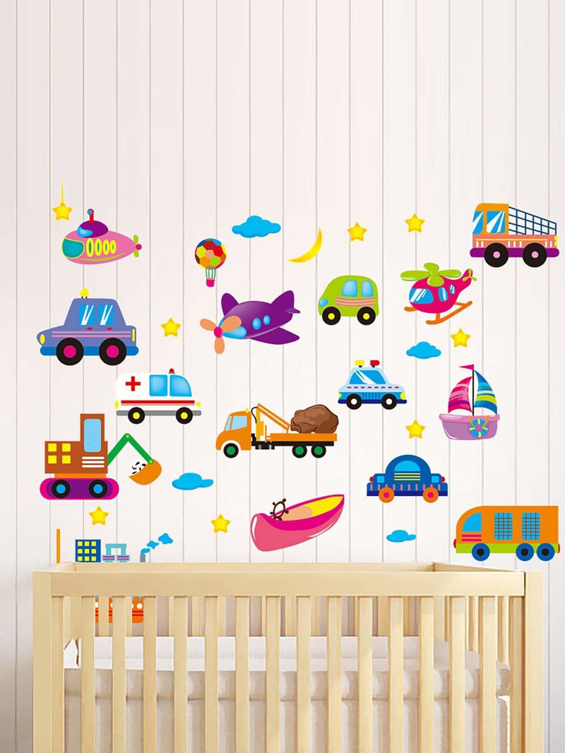 Transportation Wall Sticker 1Sheet - Wall Art