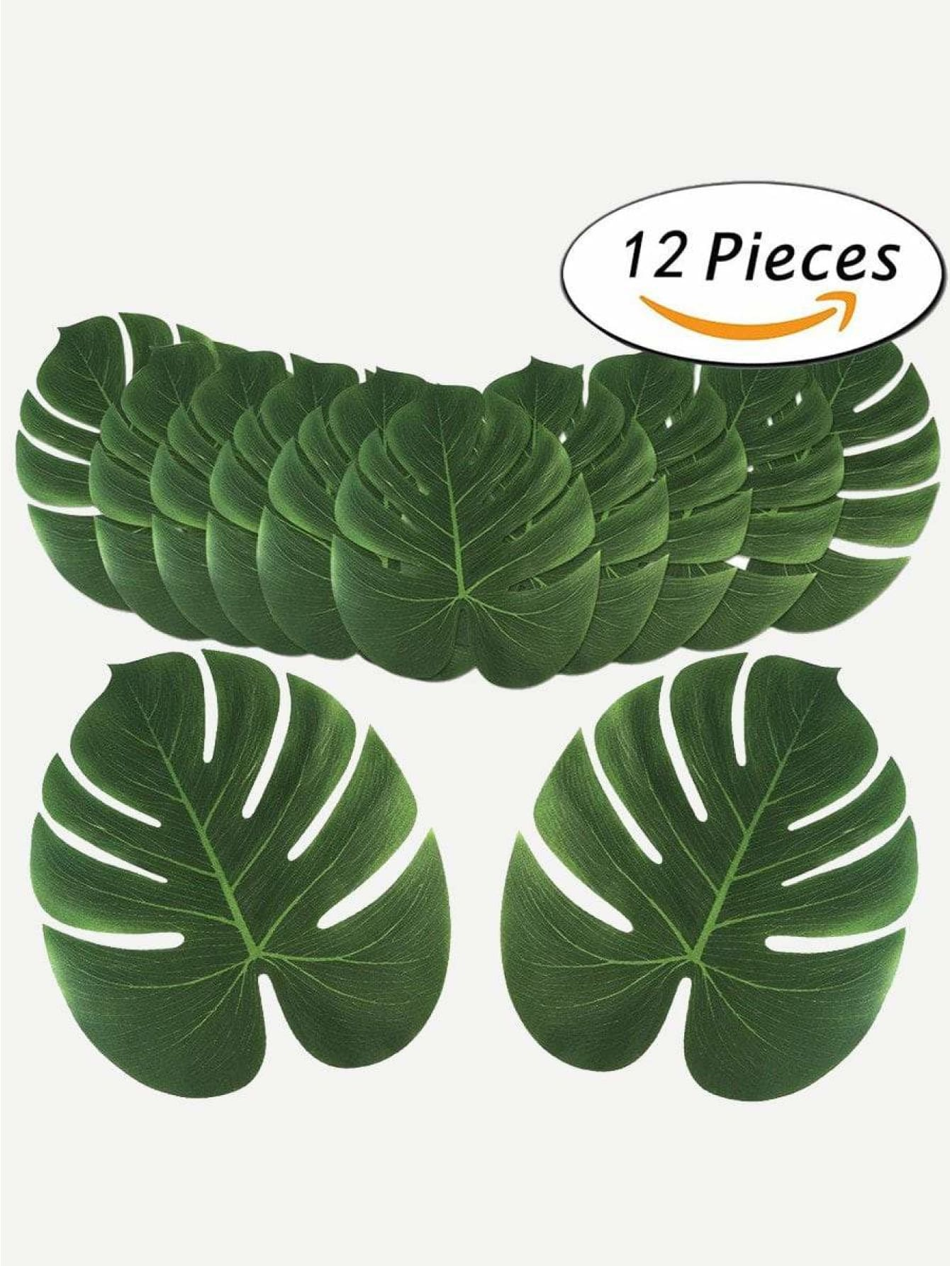 Turtle Leaf Design Placemat 12Pcs - One-Size / One Color - Dining