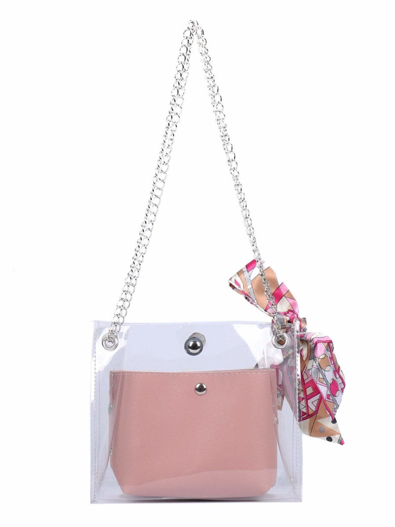 Twilly Scarf Bag With Inner Pouch - Womens Bag