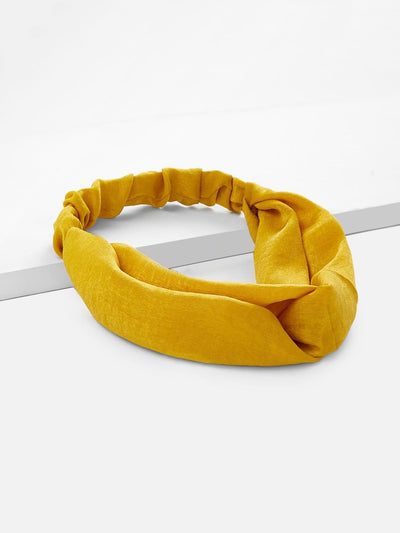 Twist Design Headband - Hair Accessories
