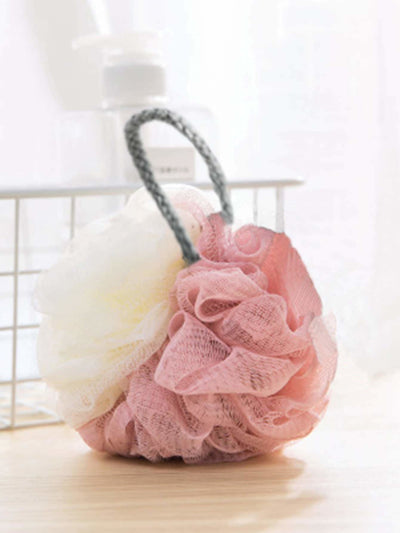 Two Tone Foaming Net Ball - Bath Accessories