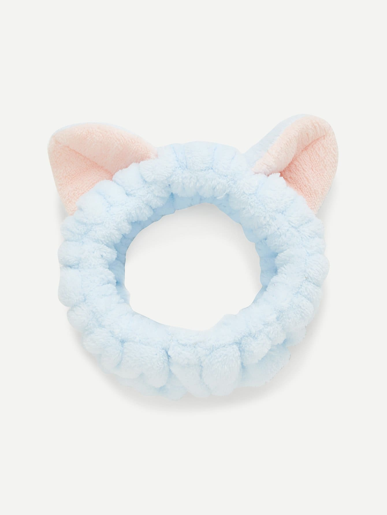 Two Tone Headband With Cat Ear