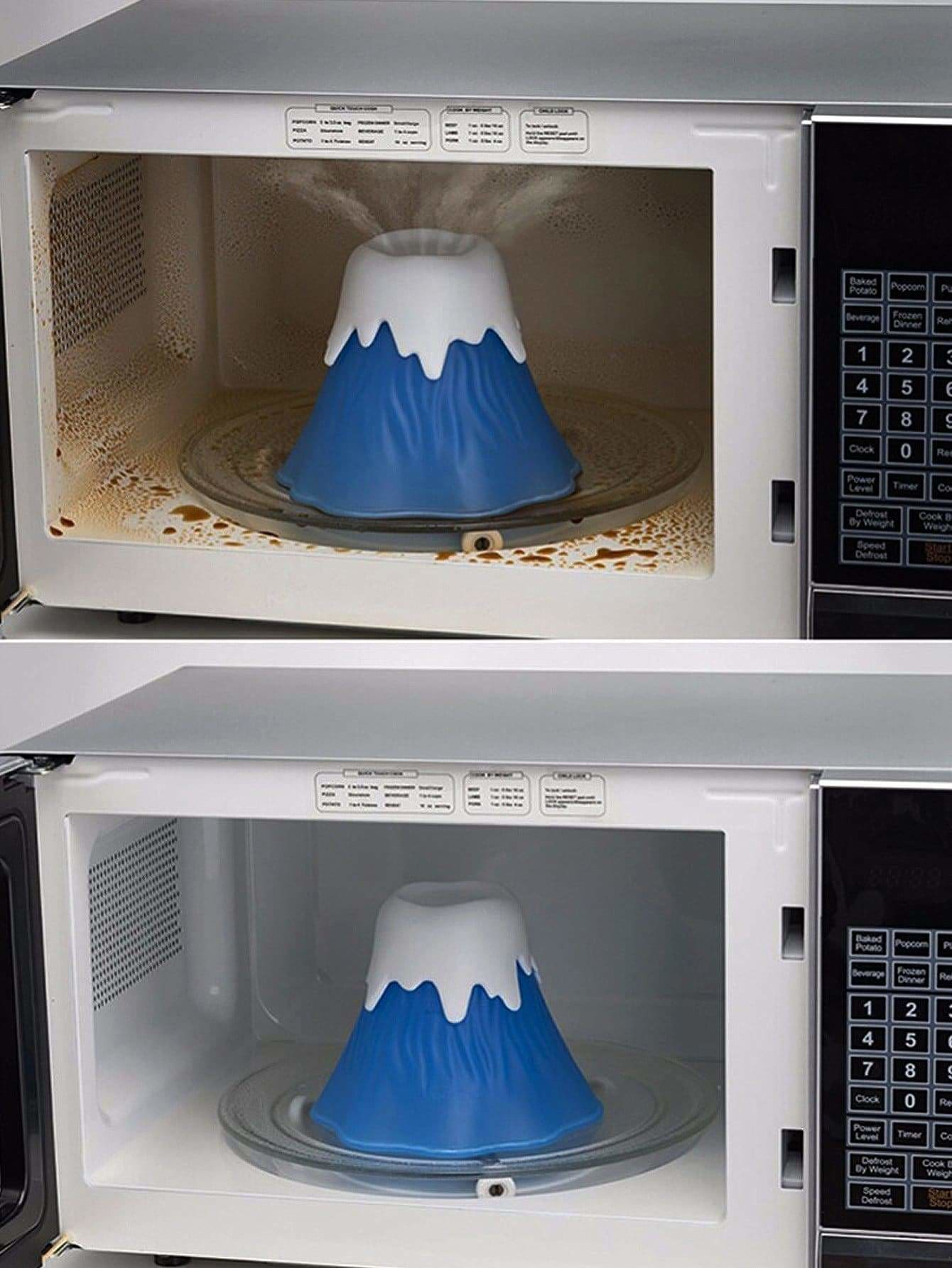 Volcanic Shape Microwave Cleaner 1Pc - Kitchen Tools