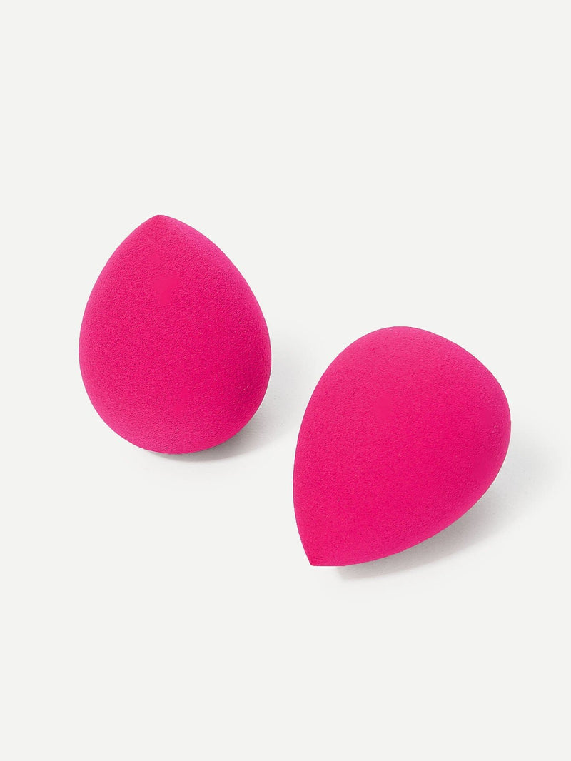 Water-Drop Shaped Makeup Sponge 2Pack - Beauty Tools