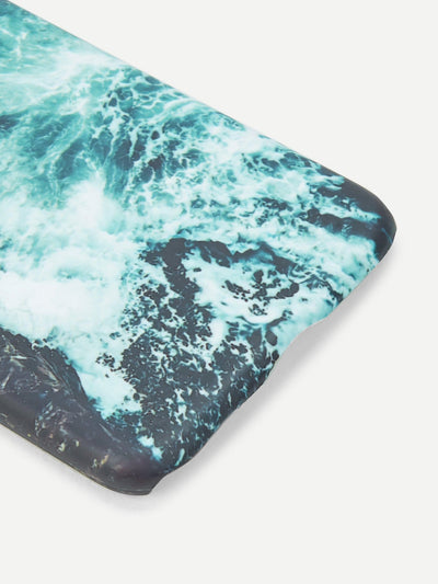 Waves Print Iphone Phone Case - Phone Cases