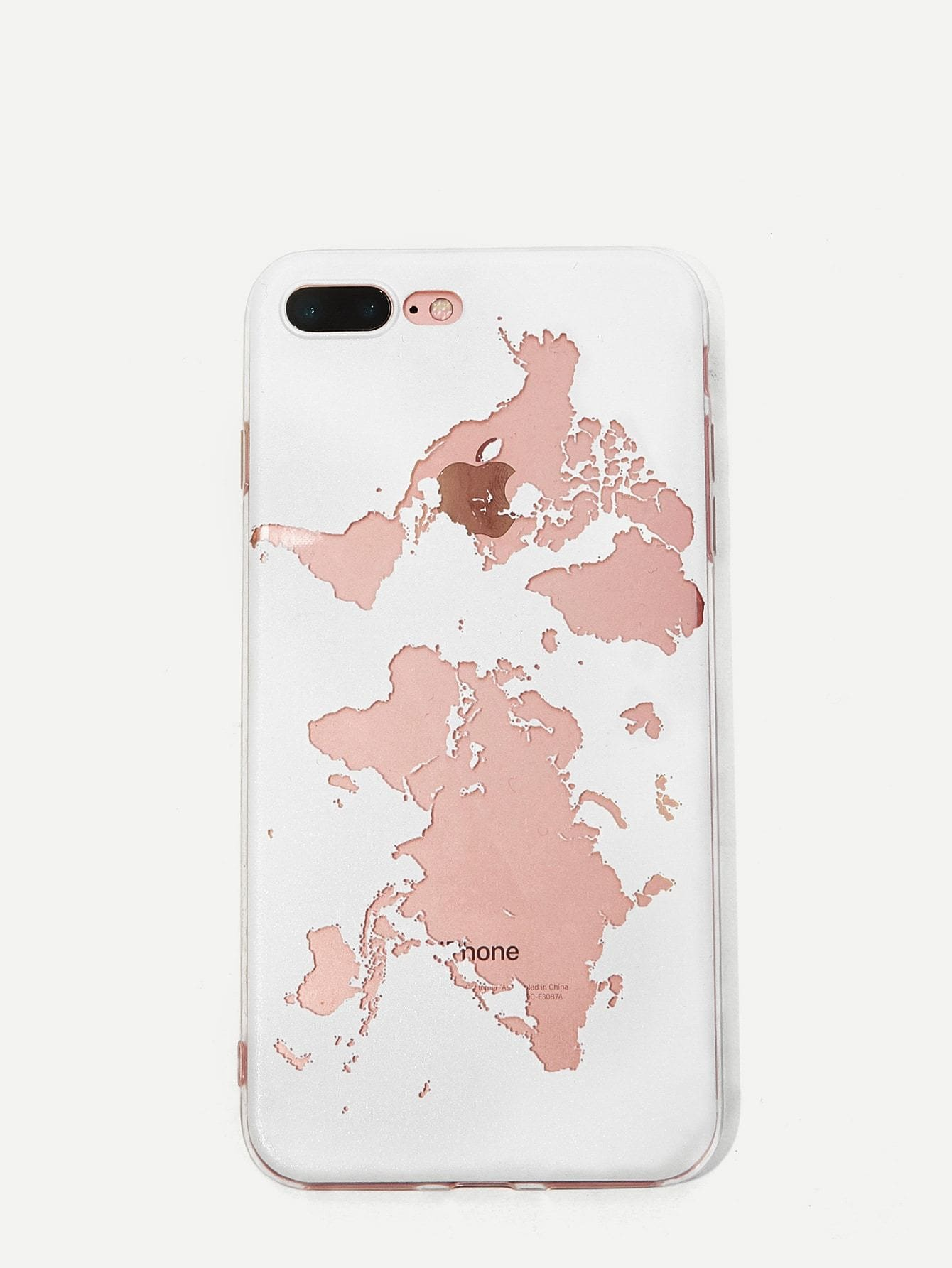 f75ad3e567 World Map Iphone Case - Phone Cases