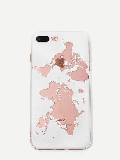 World Map Iphone Case - Phone Cases