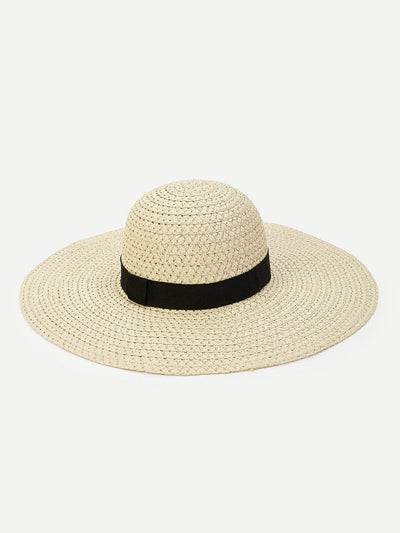 Woven Floppy Hat - Hats & Gloves