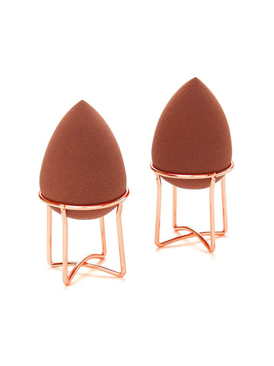 X Shaped Makeup Puff Holder 2Pcs - Beauty Tools