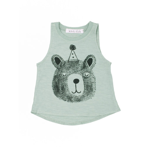 Bear Tank Top, mint