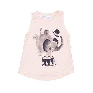 Elephant Tank Top, peach