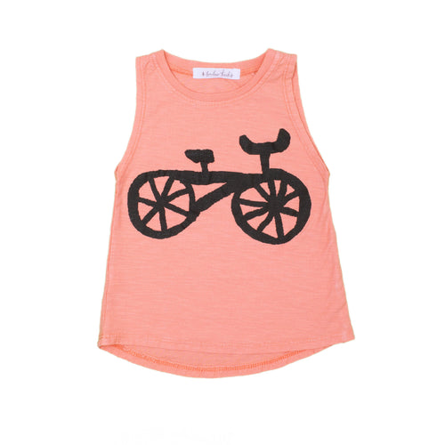 Bike Tank Top, dusty orange