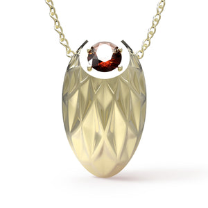 Avals Yellow Gold Small Pendant