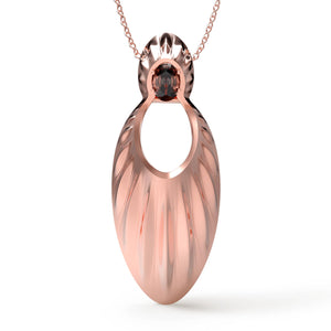 Avals Rose Gold Large Pendant