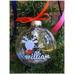Baby's First Christmas Reindeer Keepsake Ornament