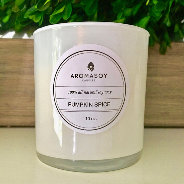 Festive Holiday Scented Handpoured Soy Candle