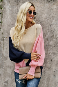 Leila Lantern Sleeve Sweater