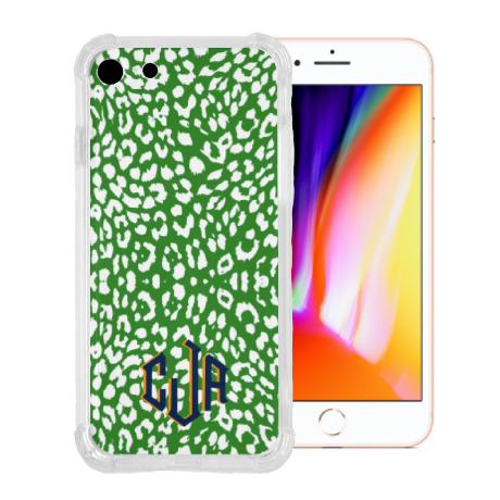 The Nila Leopard Print Collection - Monogrammed Phone Case