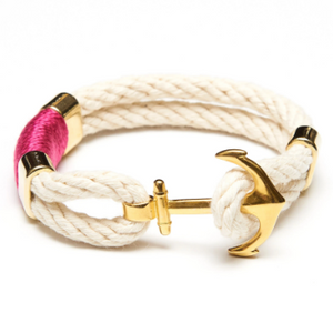 Waverly Ivory Anchor Bracelet by Allison Cole Jewelry
