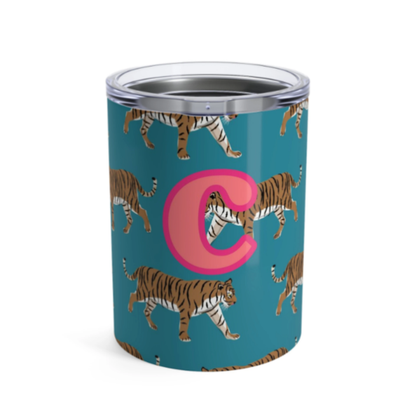 Personalized Tiger Tumbler