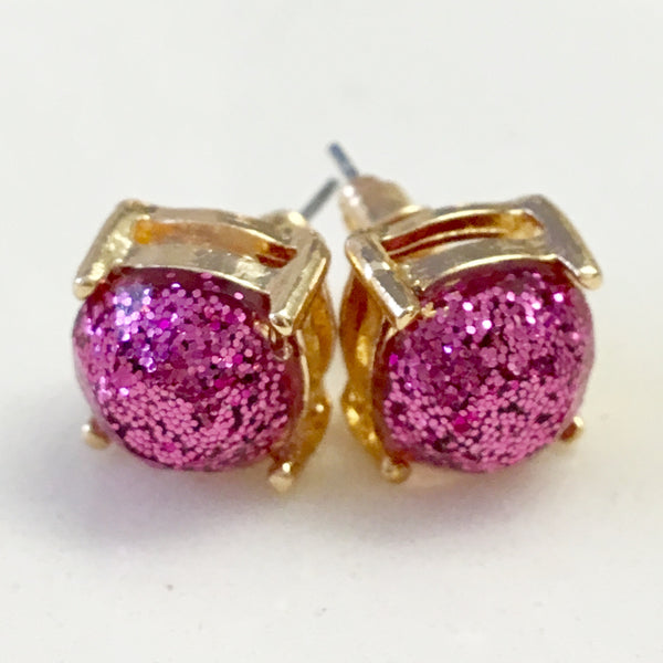 Glitter Confetti Stud Earrings