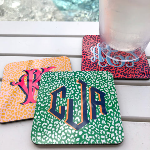 The Nila Collection - Cork Back Coasters