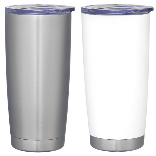 "Stainless Steel ""Coffee"" Tumbler"