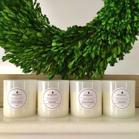 Fresh Spring/Summer Scented Handpoured Soy Candle