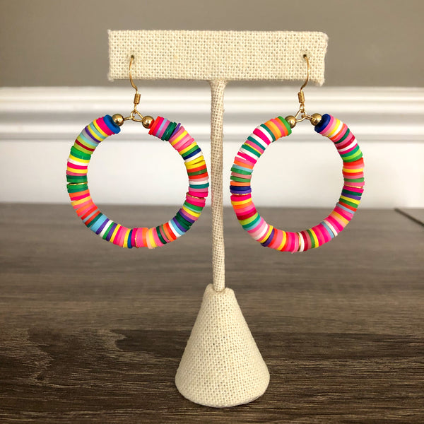 The Hailey Collection - Rainbow Earrings and Bracelet