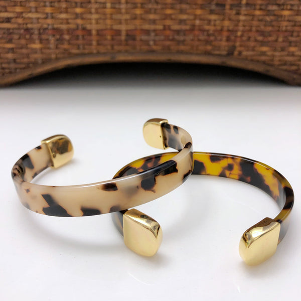 Tortoiseshell Bangle Bracelet