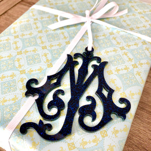 Acrylic Monogram Ornament