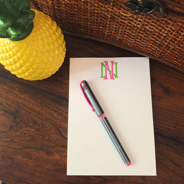 Monogram Chic Notepads